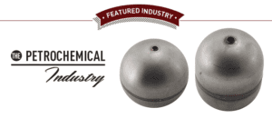 Stainless steel float valves in the petrochemical industry