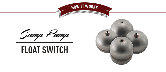Sump Pump Float Switch Banner