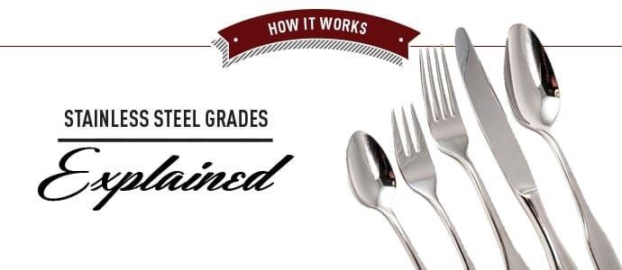 Stainless Steel Grades Explained