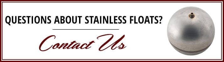 Stainless Floats Contact
